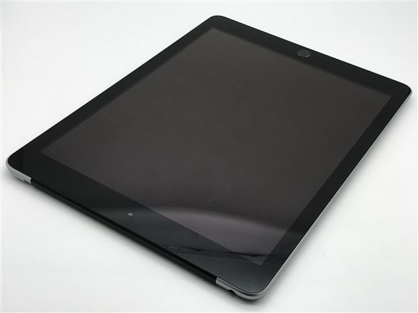 【中古】【安心保証】 SoftBank 9.7iPad 6[セルラー32G] グレイ
