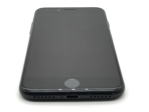 【中古】【安心保証】 au iPhone7[128G] ブラック
