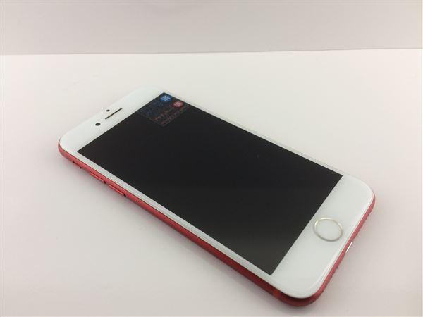 【中古】【安心保証】 au iPhone7[128G] レッド