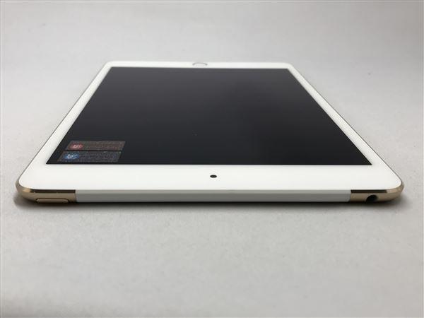 【中古】【安心保証】 SoftBank iPadmini4[セルラー64G] ゴールド