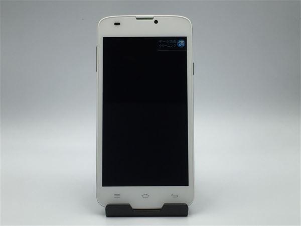 【中古】【安心保証】 SIMフリー FXC-5A ホワイト