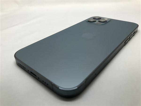 【中古】【安心保証】 SIMフリー iPhone12Pro[256G] ブルー