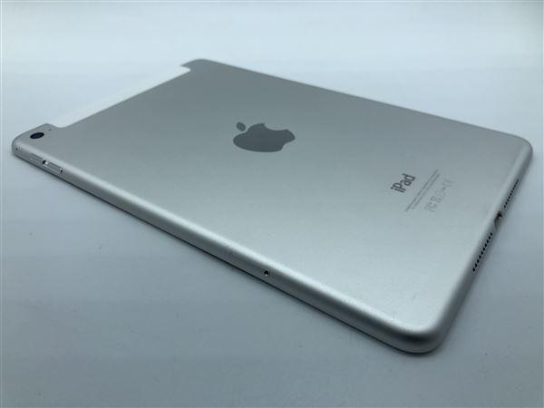 【中古】【安心保証】 SoftBank iPadmini4[セルラー64G] シルバー