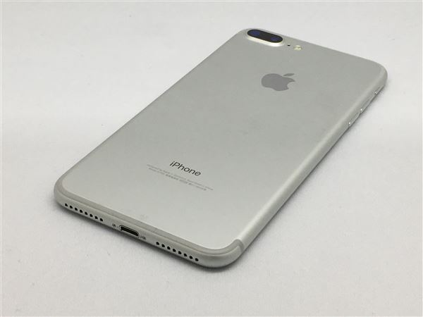【中古】【安心保証】 SoftBank iPhone7Plus[128G] シルバー