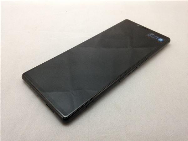 【中古】【安心保証】 SoftBank 802SO ブラック