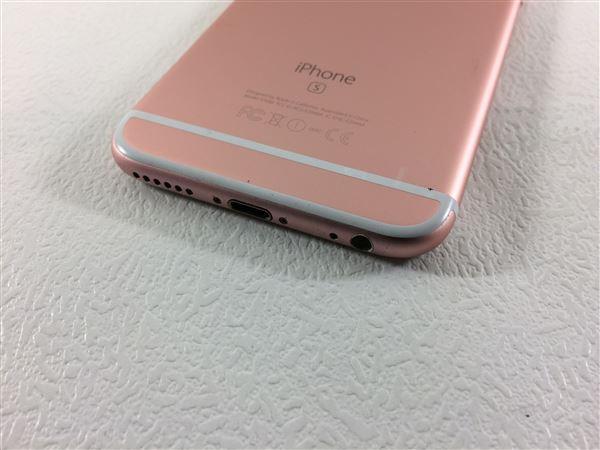 【中古】【安心保証】 SoftBank iPhone6s[64G] ローズゴールド