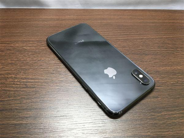 【中古】【安心保証】 SIMフリー iPhoneXS[64G] スペースグレイ