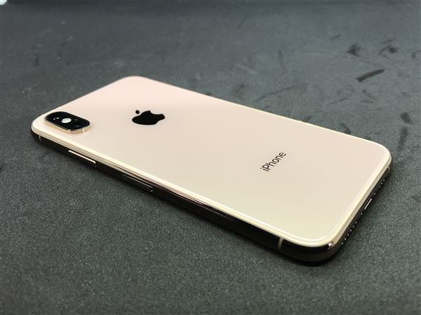 【中古】【安心保証】 SoftBank iPhoneXS[512G] ゴールド