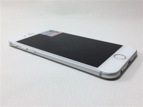 【中古】【安心保証】 SoftBank iPhone6[64GB] シルバー