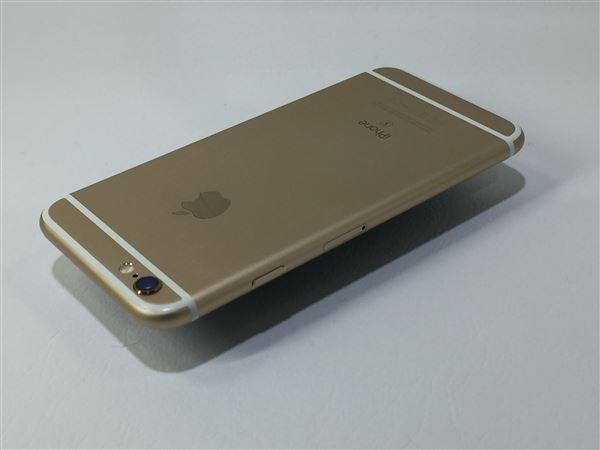 【中古】【安心保証】 au iPhone6s[128G] ゴールド SIMロック解除済