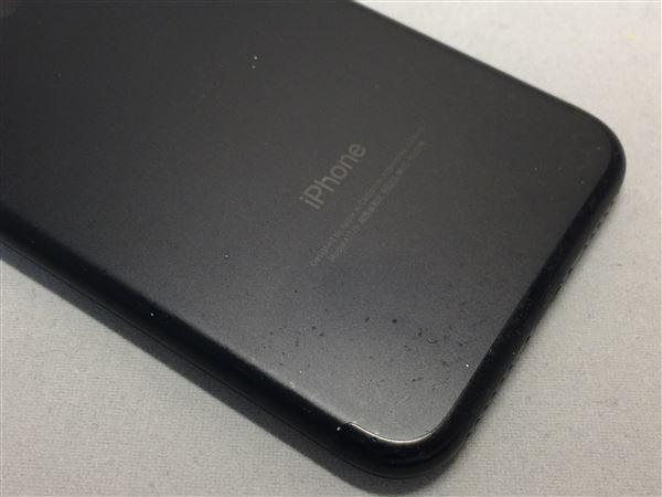 【中古】【安心保証】 docomo iPhone7[32G] ジェットブラック SIMロック解除済