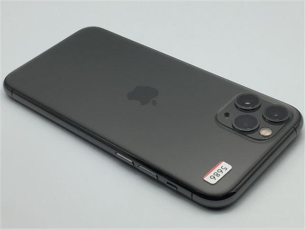 【中古】【安心保証】 SoftBank iPhone11 Pro[512G] スペースグレイ