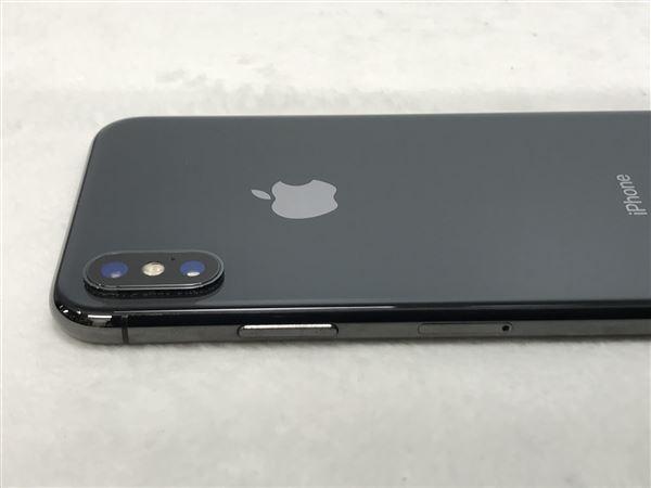 【中古】【安心保証】 au iPhoneX[256GB] スペースグレー