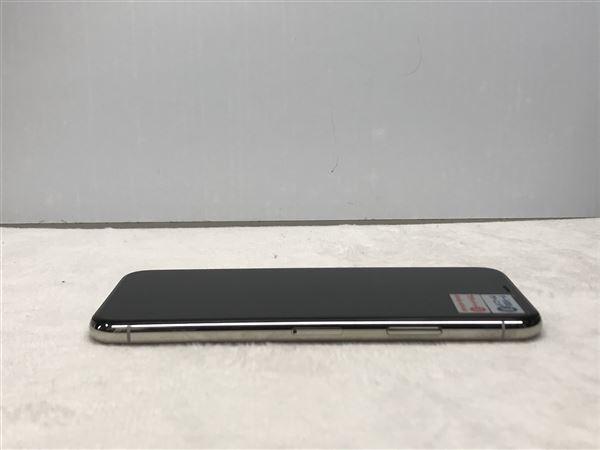 【中古】【安心保証】 SoftBank iPhoneXS[64G] シルバー