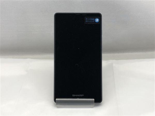 【中古】【安心保証】 SIMフリー SH-RM02 ネイビー 楽天モバイル版