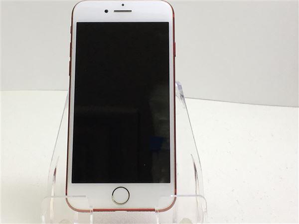 【中古】【安心保証】 SIMフリー iPhone7[128G] レッド