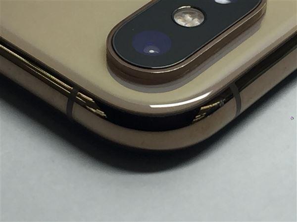 【中古】【安心保証】 SIMフリー iPhoneXS[256G] ゴールド