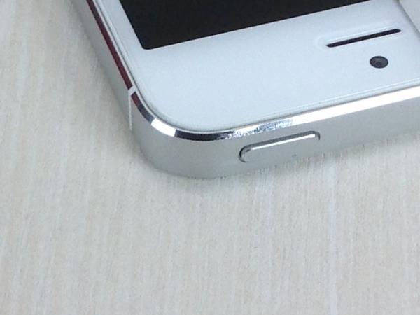【中古】【安心保証】 SoftBank iPhone5[64G] ホワイト&シルバー
