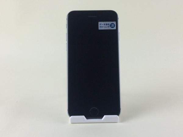 【中古】【安心保証】 au iPhone6s 64GB スペースグレイ SIMロック解除済