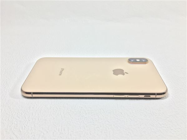 【中古】【安心保証】 SIMフリー iPhoneXS[64G] ゴールド