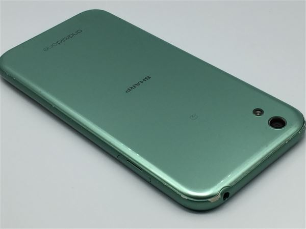 【中古】【安心保証】 Y!mobile Android One X1 ミントグリーン