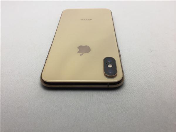 【中古】【安心保証】 SoftBank iPhoneXS[64G] ゴールド