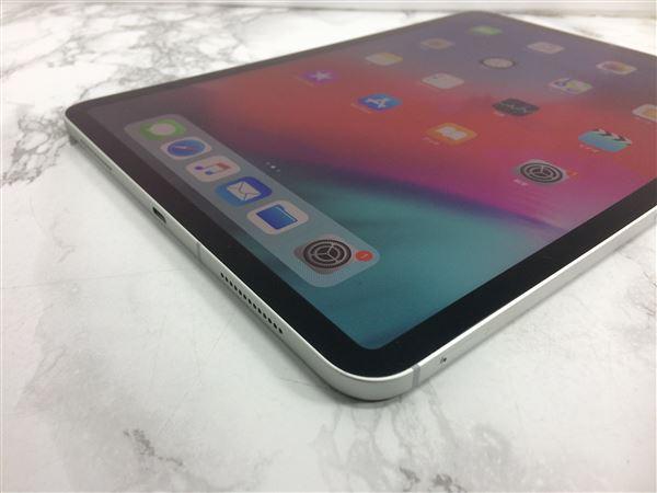 【中古】【安心保証】 au iPadPro 3ー11[セルラー64G] シルバー