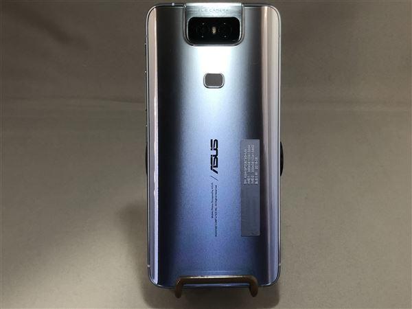 【中古】【安心保証】 SIMフリー ZenFone6[256G] シルバー
