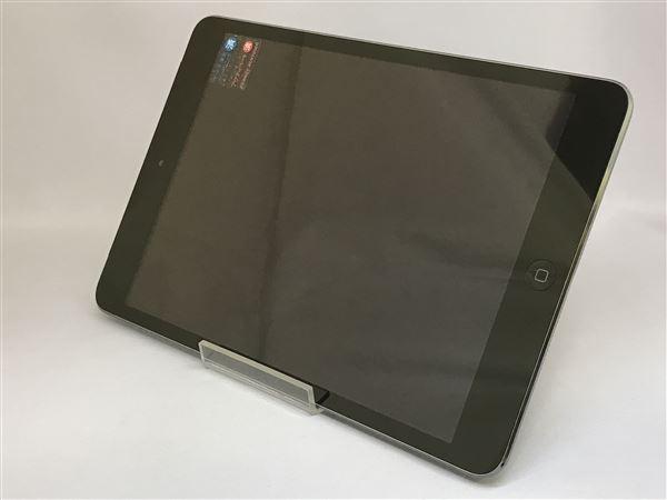 【中古】【安心保証】 au iPadmini2[セルラー16G] グレイ