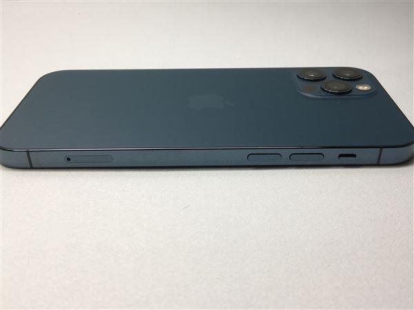 【中古】【安心保証】 au iPhone12Pro[512G] ブルー