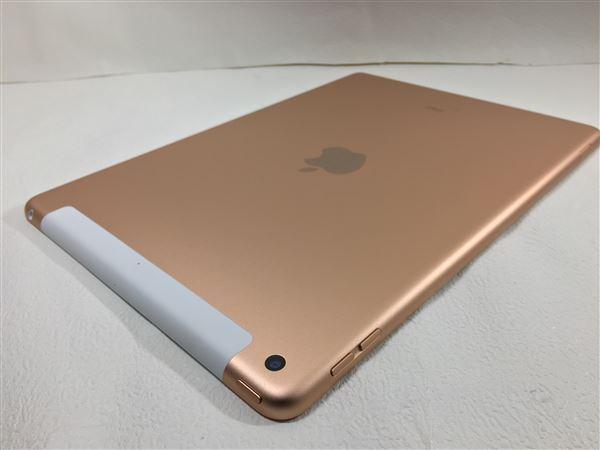 【中古】【安心保証】 docomo iPadー10.2 8[セルラー32G] ゴールド