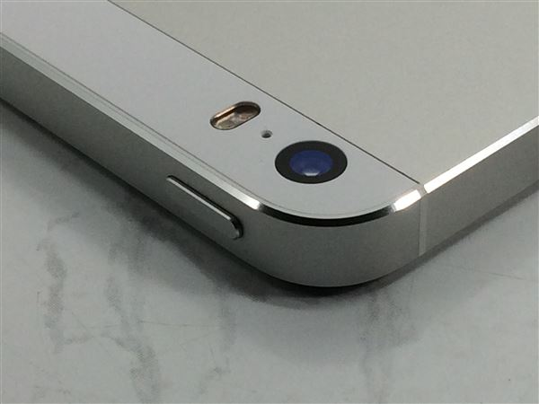 【中古】【安心保証】 SoftBank iPhone5s[64G] シルバー
