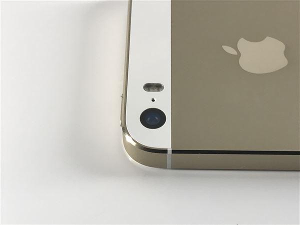 【中古】【安心保証】 SoftBank iPhone5s[64G] ゴールド