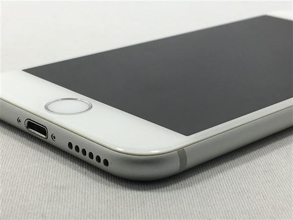 【中古】【安心保証】 au iPhone6[16G] シルバー