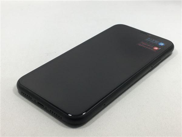 【中古】【安心保証】 au iPhoneXR[64G] ブラック