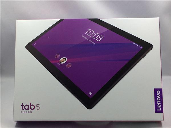 【中古】【安心保証】 SoftBank Lenovo TAB 5 801LV ブラック