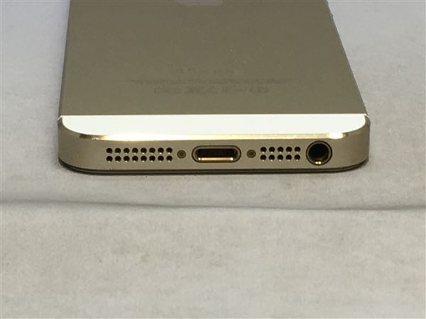 【中古】【安心保証】 SoftBank iPhone5s[64G] ゴールド