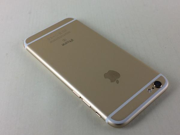 【中古】【安心保証】 au iPhone6s 64GB ゴールド SIMロック解除済