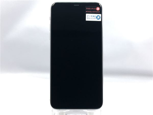 【中古】【安心保証】 SoftBank iPhone11 Pro Max[512G] シルバー