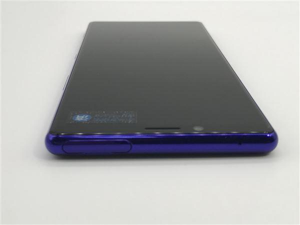 【中古】【安心保証】 SoftBank 802SO パープル
