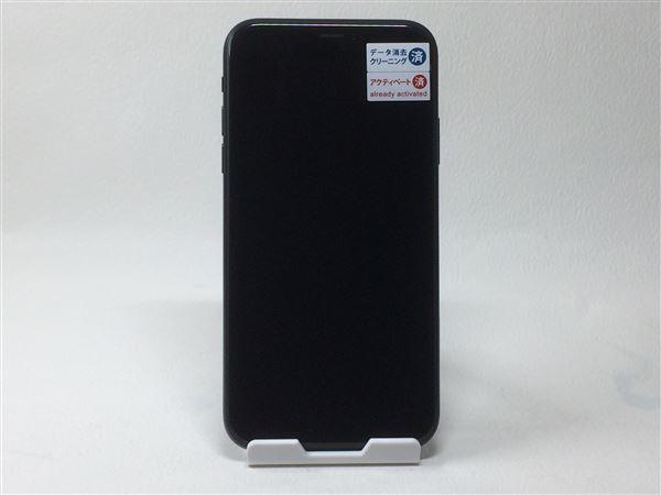 【中古】【安心保証】 SoftBank iPhoneXR[256GB] ブラック