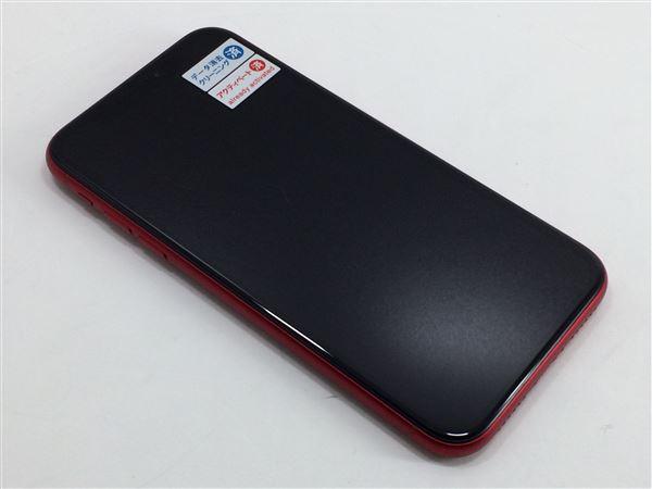 【中古】【安心保証】 docomo iPhoneXR[64GB] レッド