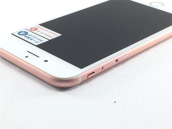 【中古】【安心保証】 SoftBank iPhone6s[128G] ローズゴールド