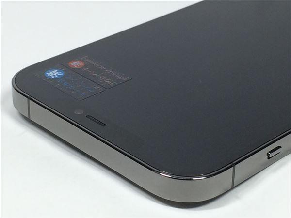 【中古】【安心保証】 SIMフリー iPhone12ProMax[512G] グラファイト