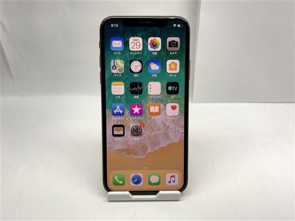 【中古】【安心保証】 SIMフリー iPhoneXS[512G] ゴールド