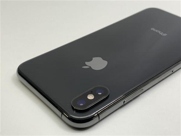 【中古】【安心保証】 au iPhoneXS[512G] スペースグレイ
