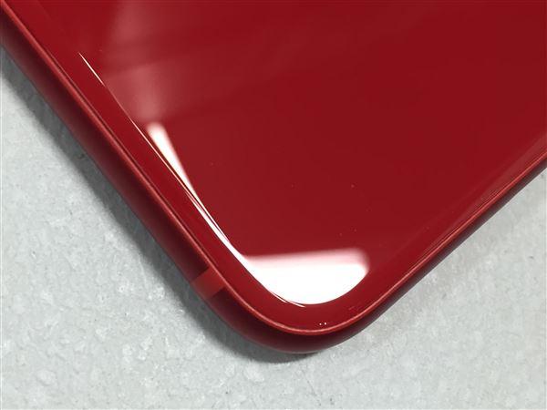 【中古】【安心保証】 au iPhone8[64GB] レッド