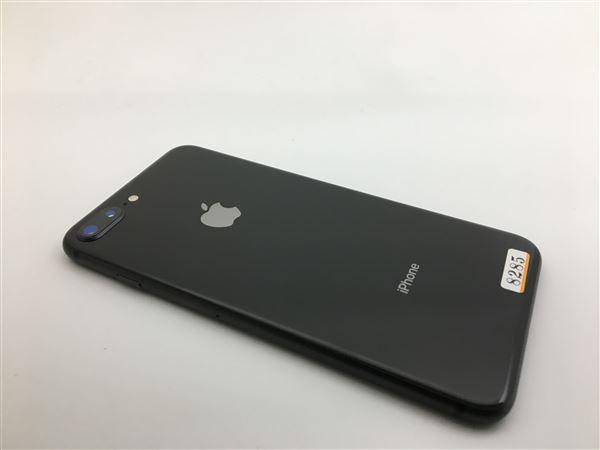 【中古】【安心保証】 SoftBank iPhone8Plus[64GB] スペースグレイ