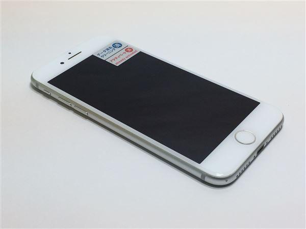 【中古】【安心保証】 au iPhone7[32GB] シルバー