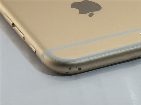 【中古】【安心保証】 docomo iPhone6[64G] ゴールド
